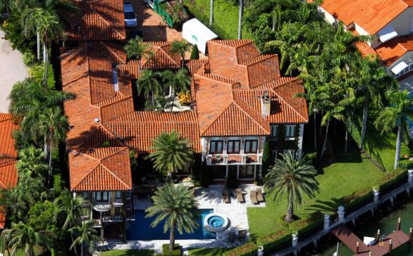 Miami Beach Spanish Style Aerial