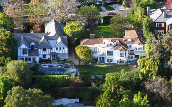 Double Property Aerial