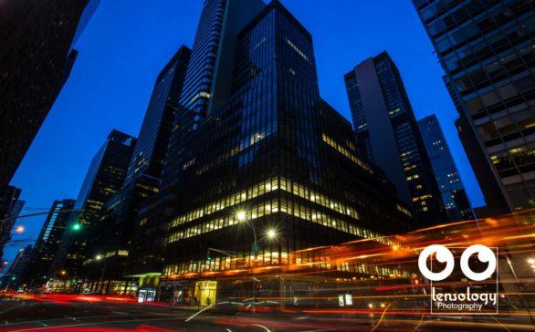 Manhattan Hi-Rise Night Portrait For QFC